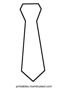 Coloring Contest: Decorate a Tie for Fathers Day! Decorata a Tie for dad 225x300