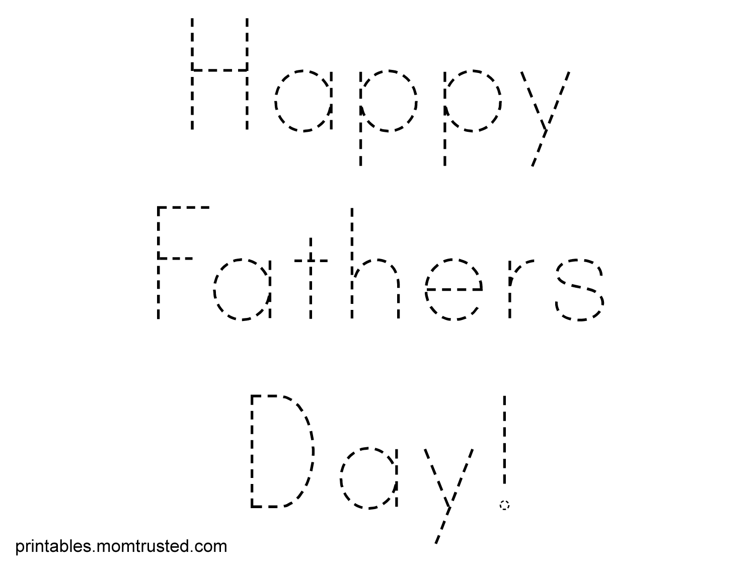 Childrens fathers day coloring pages - Fathers Day