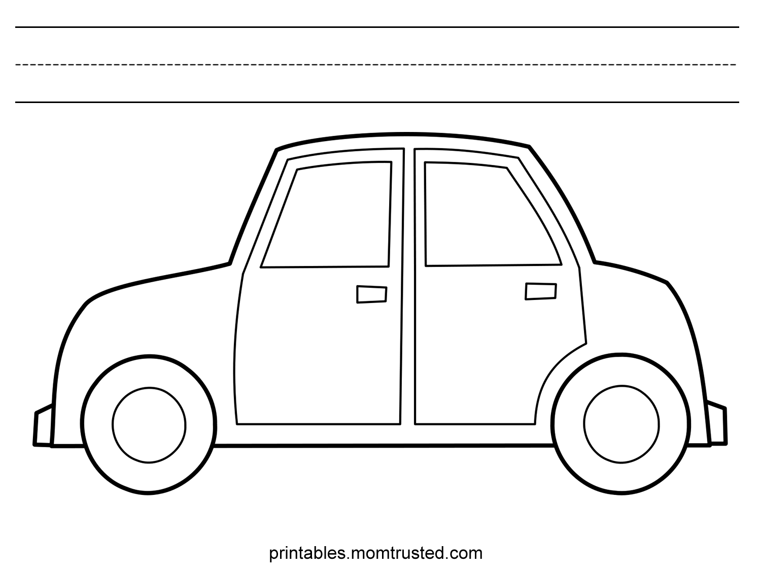 Car Category - Preschool Activities and PrintablesPreschool ...