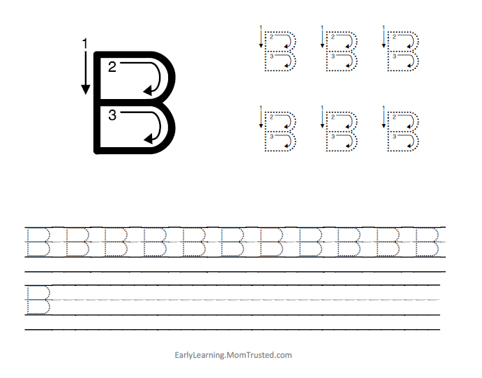 Letter B Category - Preschool Activities and PrintablesPreschool ...