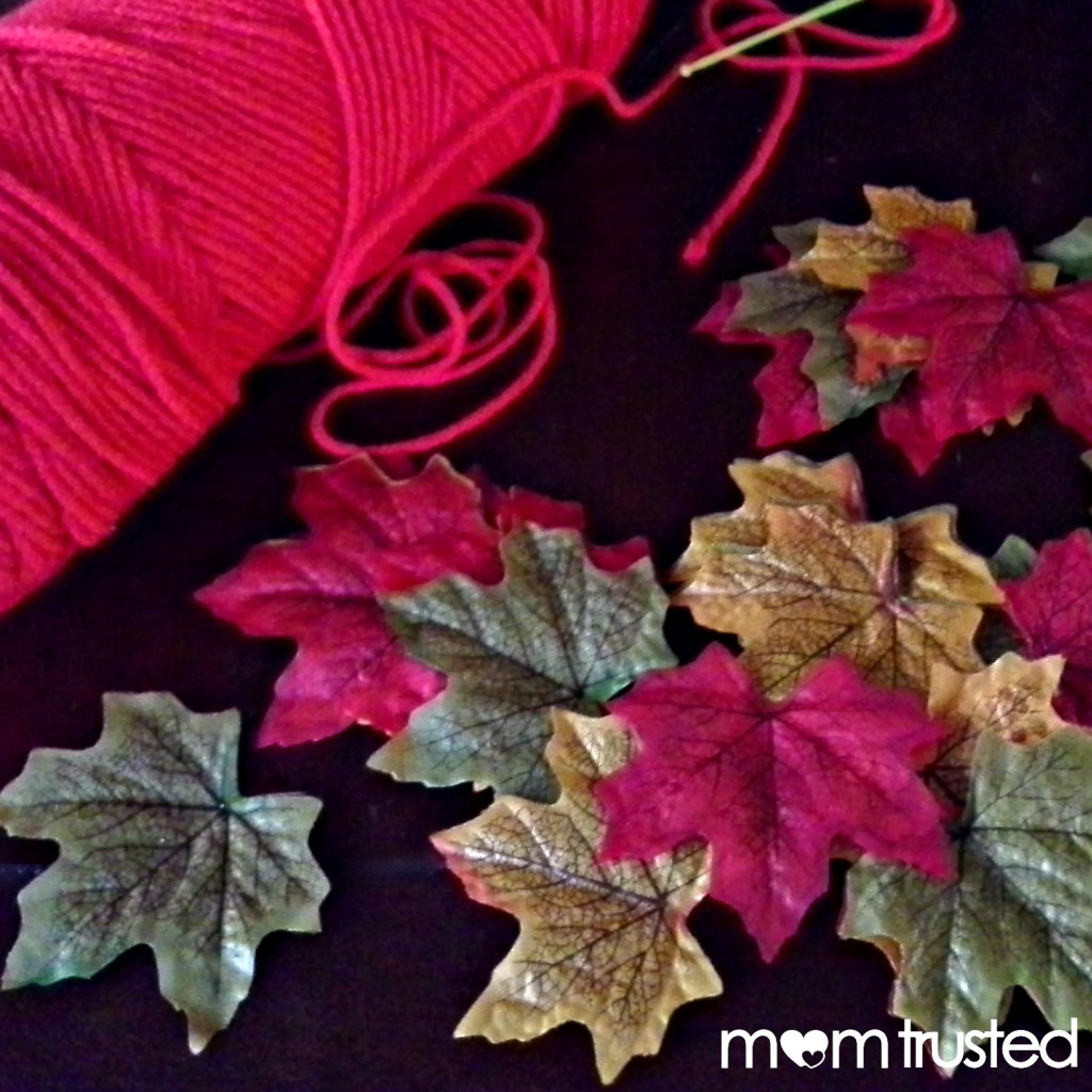 fall decorations how to make an autumn leaf garland preschool
