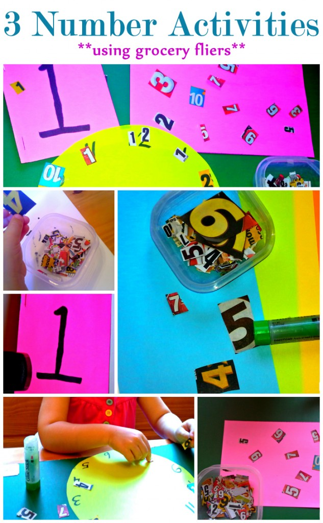 3 Number Activities Using Grocery Flyers 3numberactivitieswtitle 633x1024