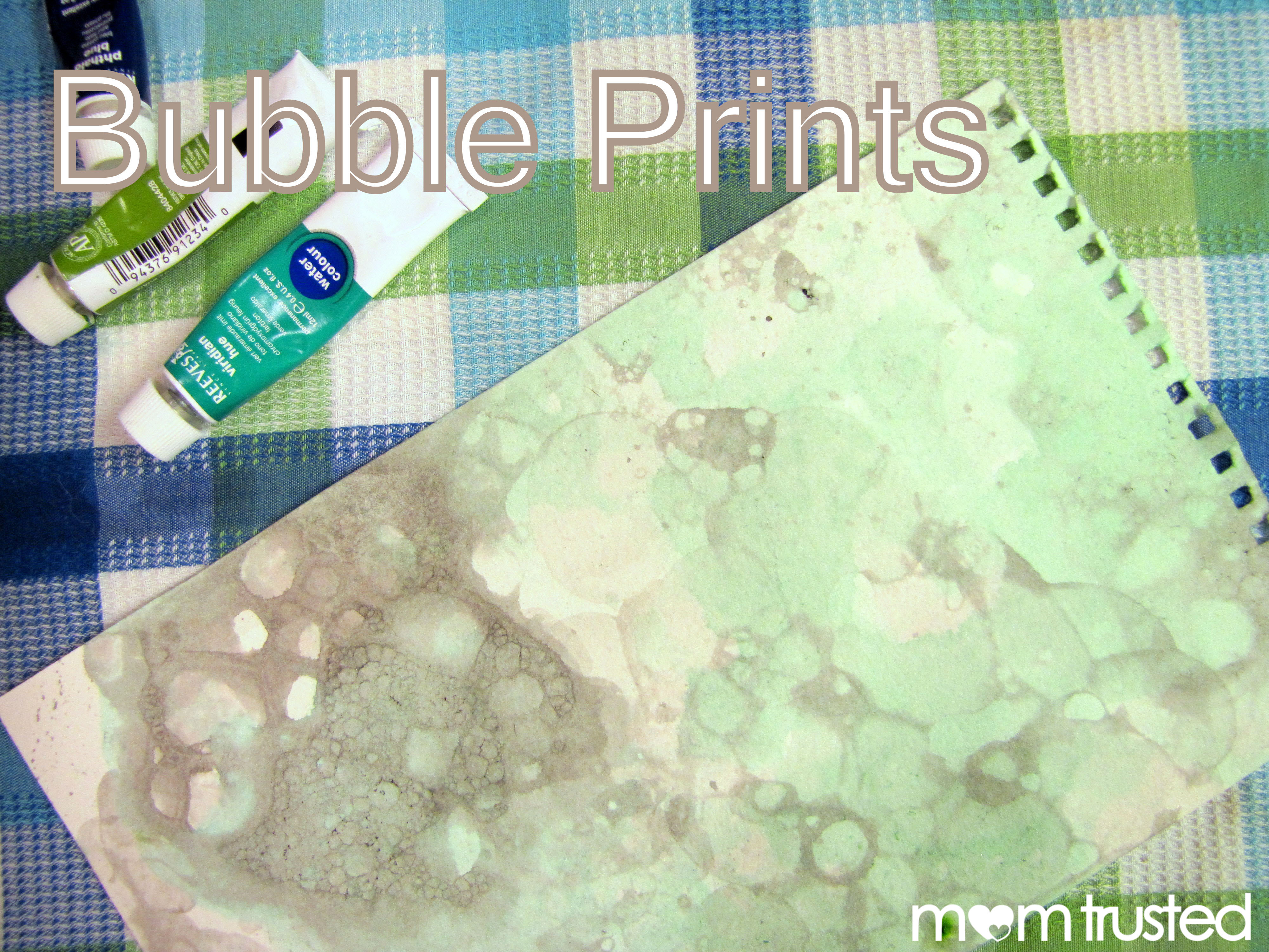 Diy Bubble Printing Super Fun Art Activity For The Kids