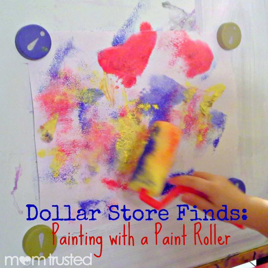 Dollar Store Finds: Paint Roller Painting 20121011 203555b 1024x1024