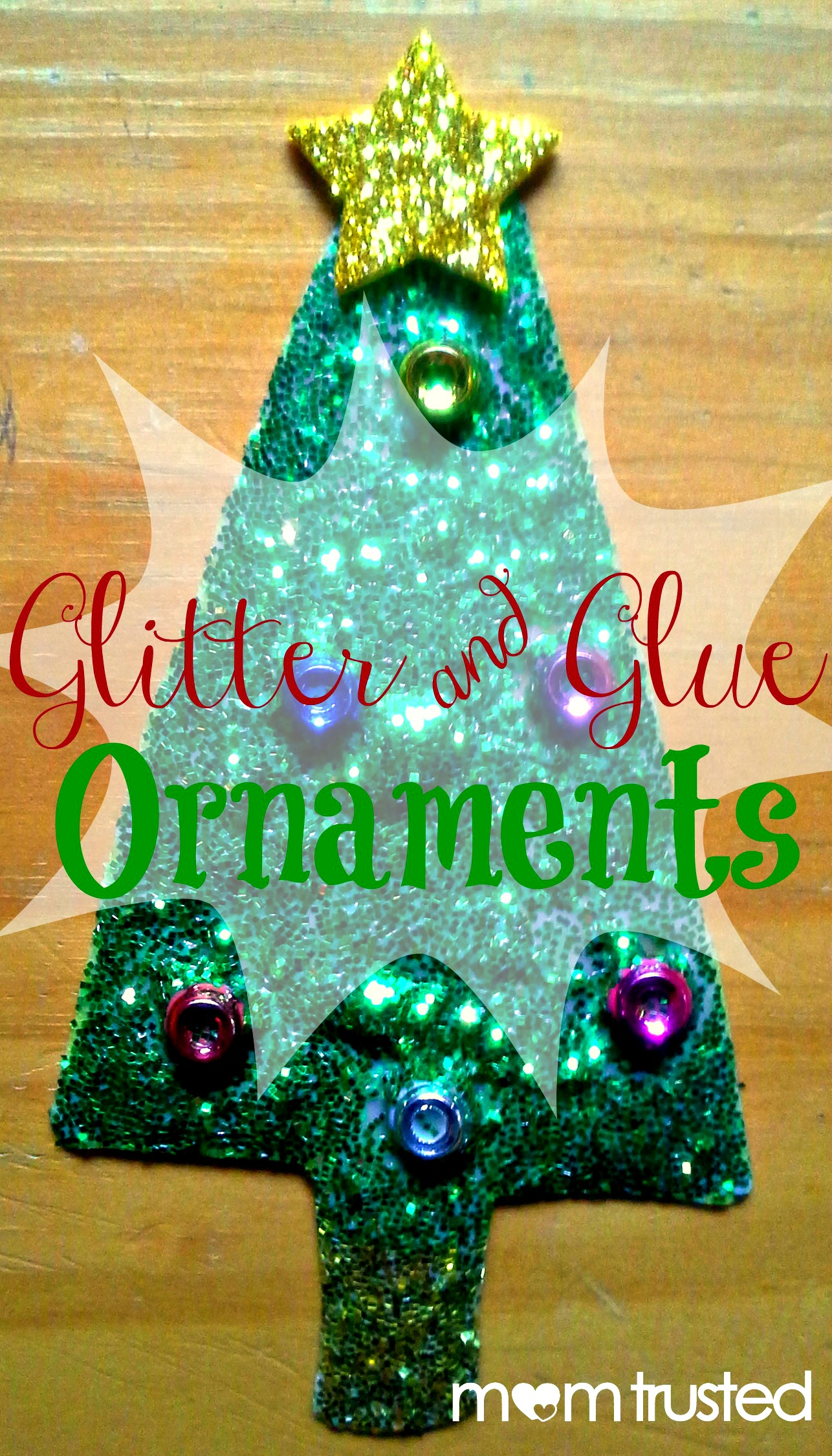 Glitter And Glue Ornaments Preschool Activities And
