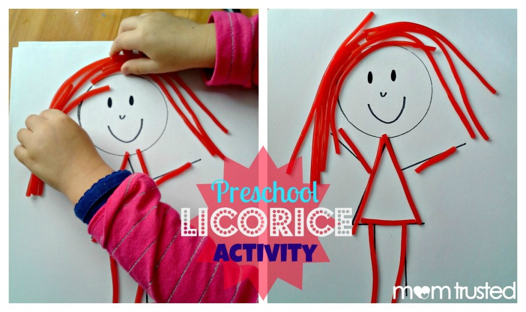 Preschool Licorice Activity Preschool Activities And Printables