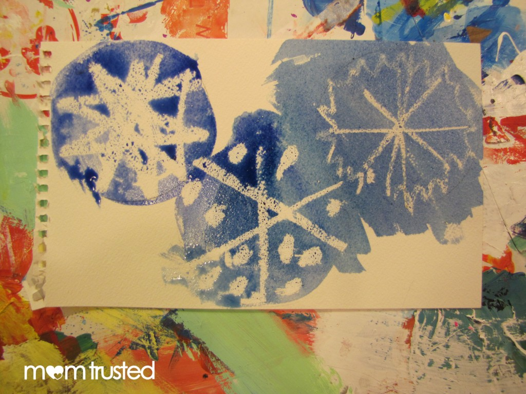 Watercolor Snowflakes snow 6 1024x768