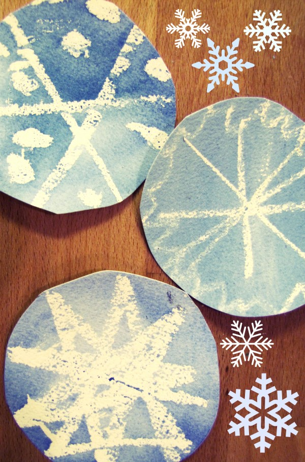 Watercolor Snowflakes watercolor snowflakes wall e1354313156513