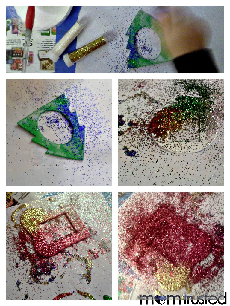 Easy Foam Picture Ornaments for Preschoolers PicMonkey Collage14