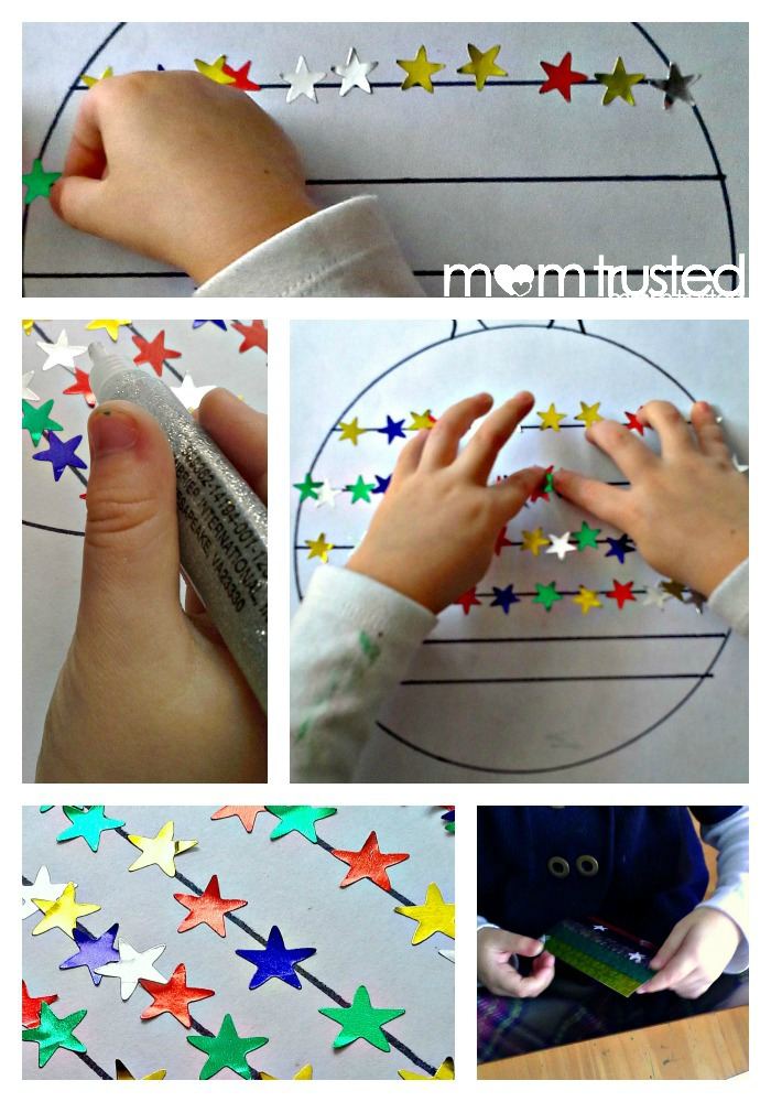 Christmas Fine Motor Sticker Activity PicMonkey Collage3a