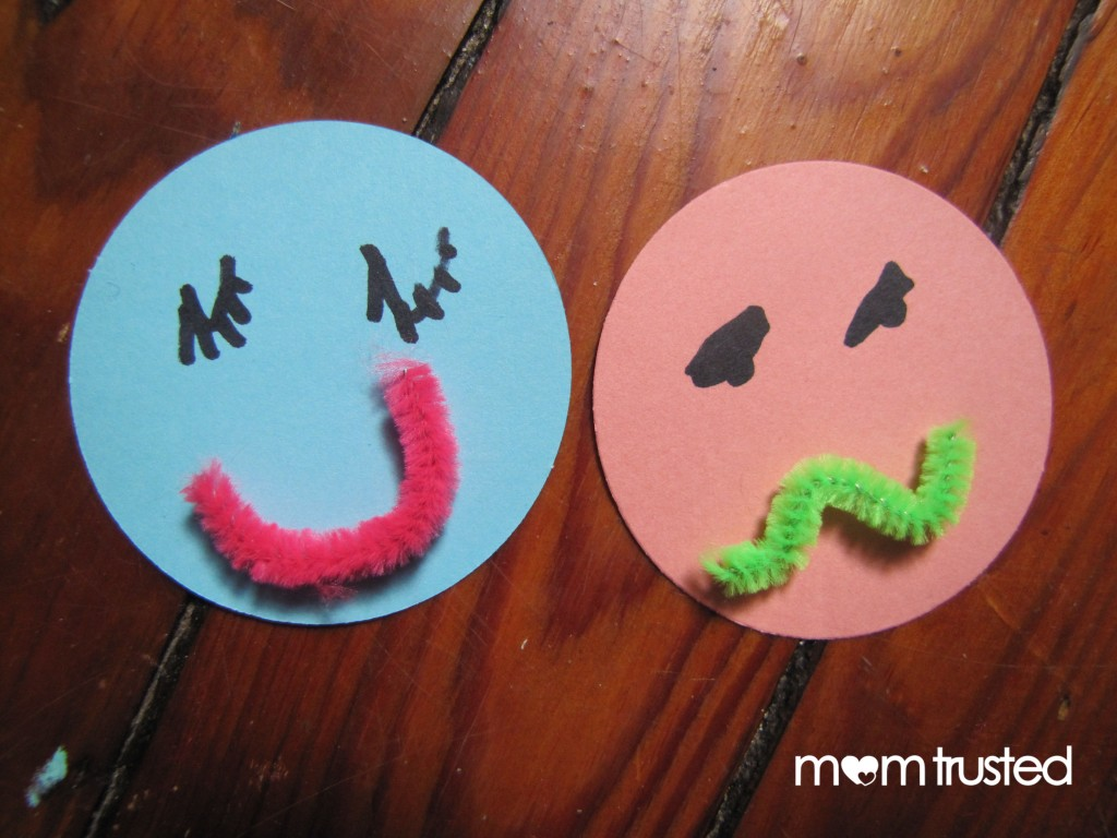 Faces and feelings activity preschool activities and for Emotion art projects
