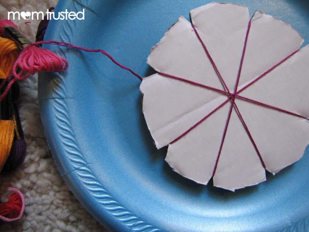Easy Geometric String Art for Preschoolers string 5 1024x768