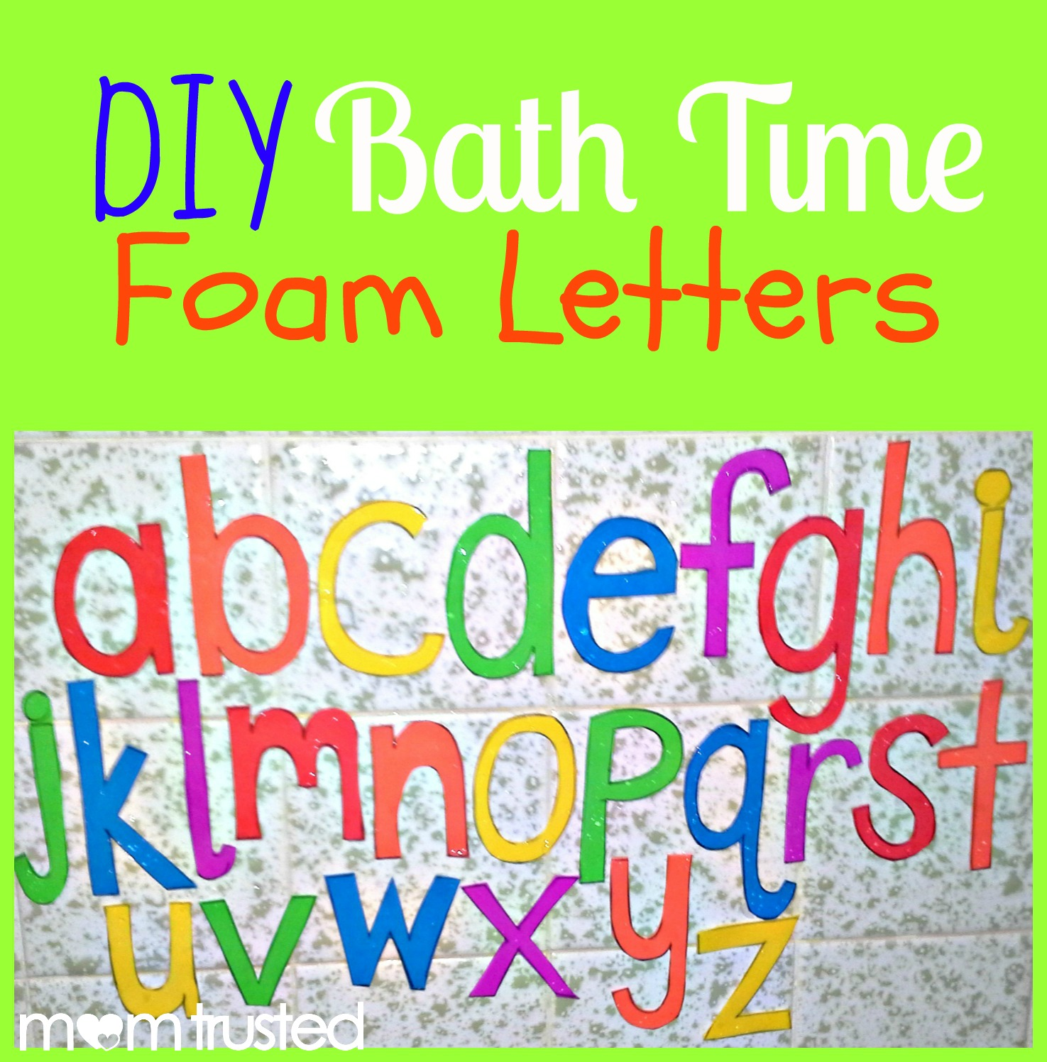 Bath Time Foam Letters, Numbers, and Shapes PicMonkey Collage2