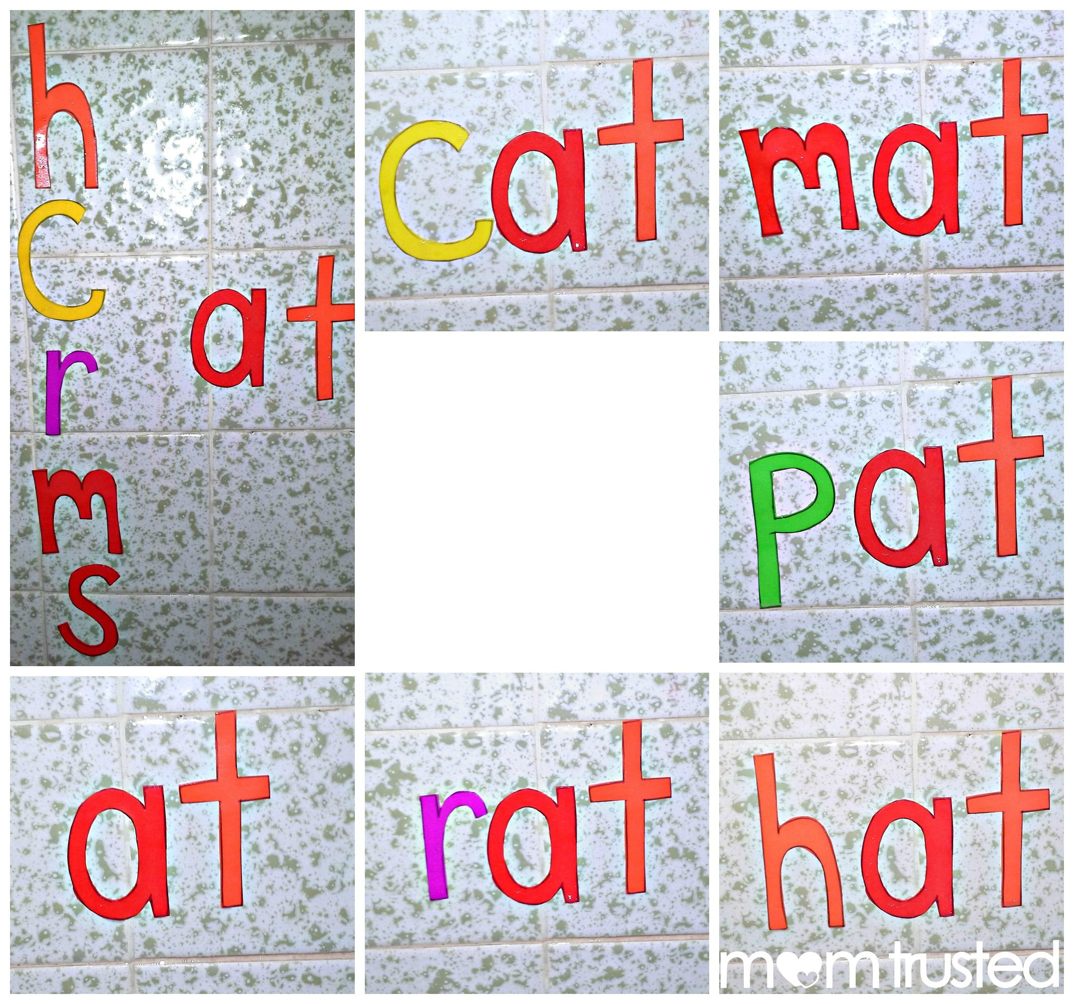 Bath Time Foam Letters, Numbers, and Shapes PicMonkey Collage3a1