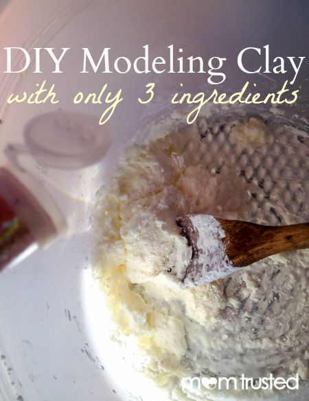 Make Your Own Modeling Clay DIY 3 Ingredient Modeling Clay by MomTrusted com