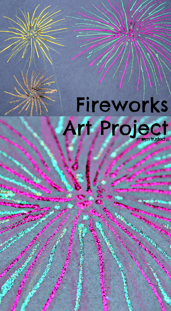 4th of July: Fireworks Art Project Fireworks Collage MomTrusted