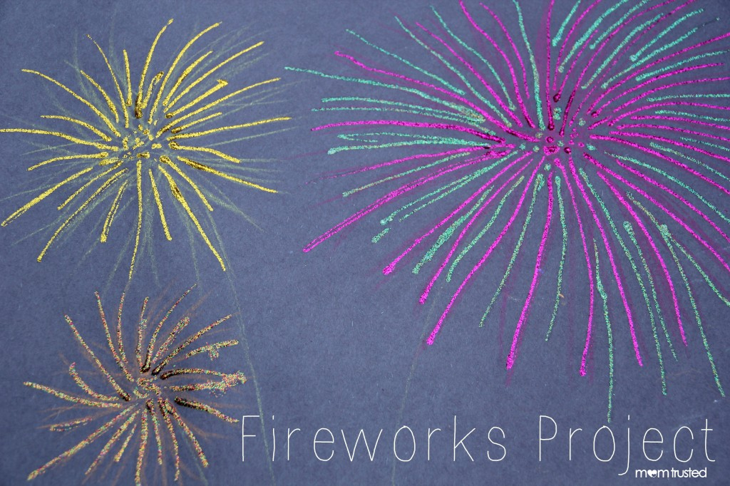 4th of July: Fireworks Art Project Fireworks Project Lead Image 1024x682