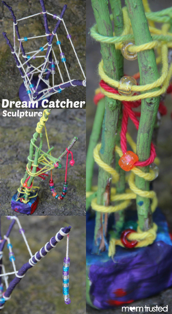 Dream Catcher Sculpture MomTrusted Dream Catcher Sculpture Project Collage