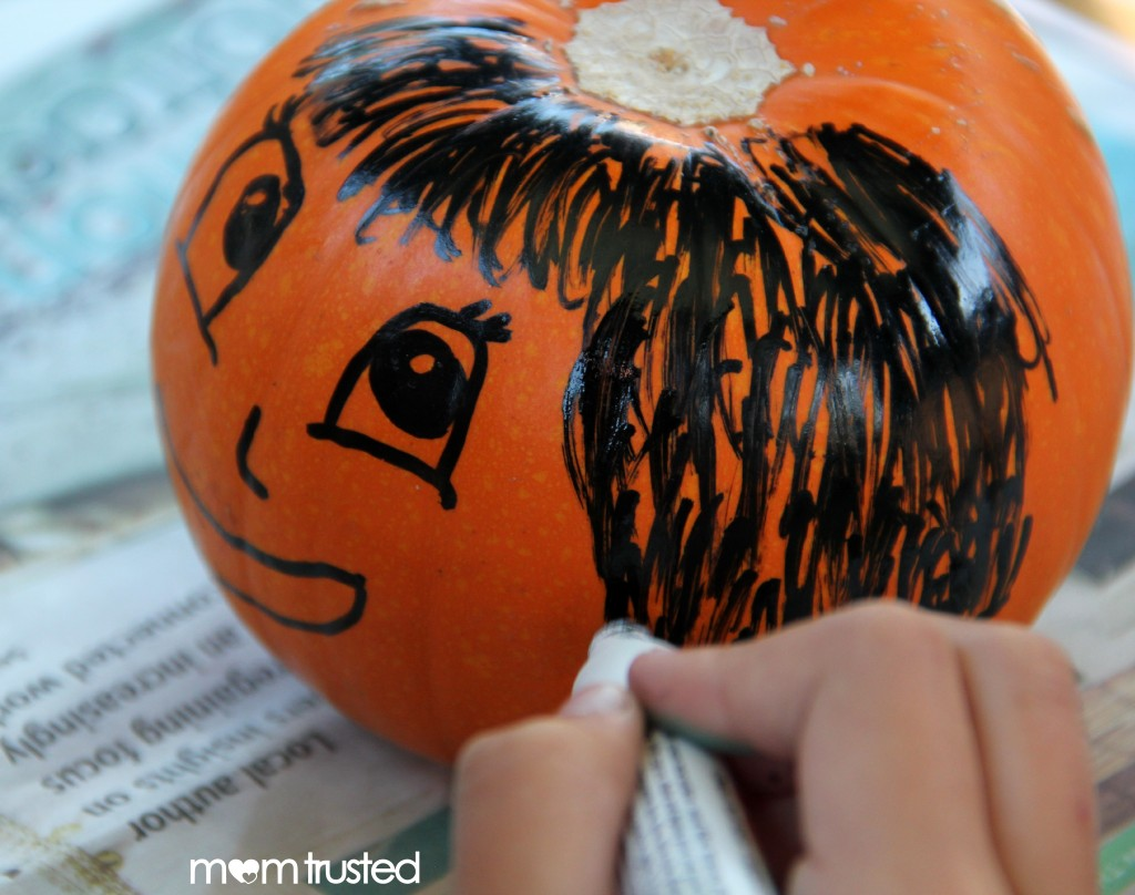 Paint Pen Pumpkin Decorating Paint Pen Pumpkins by MomTrusted 2 wm 1024x808