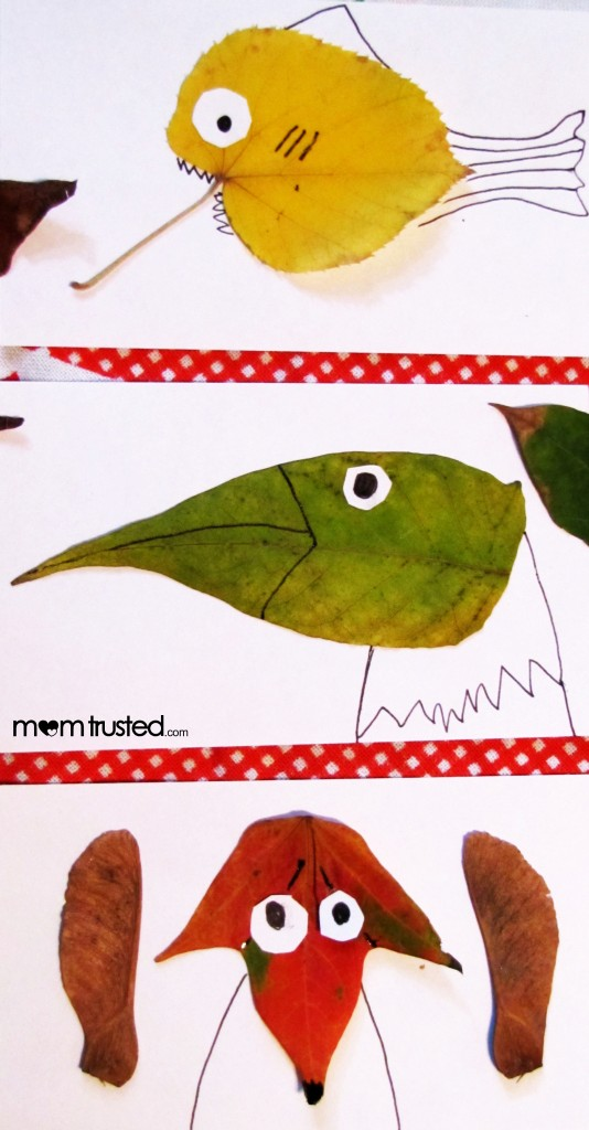 leaf creatures by momtrusted 534x1024 Leaf Animals & Meet Angela from momtrusted.com