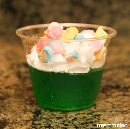 St. Patricks day dessert