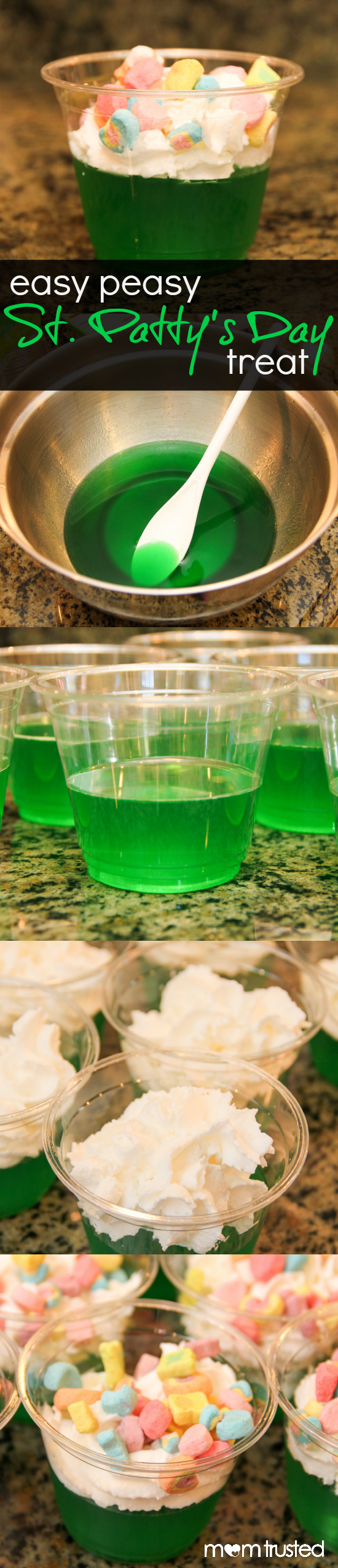 Easy Peasy St. Patricks Day Dessert st pattys day jello lucky charms treat.jpg.jpg